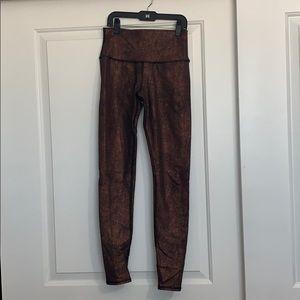 Alo Yoga Copper Leggings